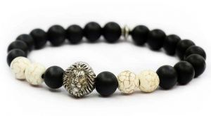 Men's bracelet made with  Agate