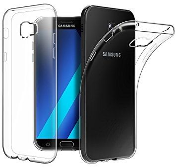 the best attitude 19be1 bf0f2 Back Cover for Samsung Galaxy A5 2017, Clear