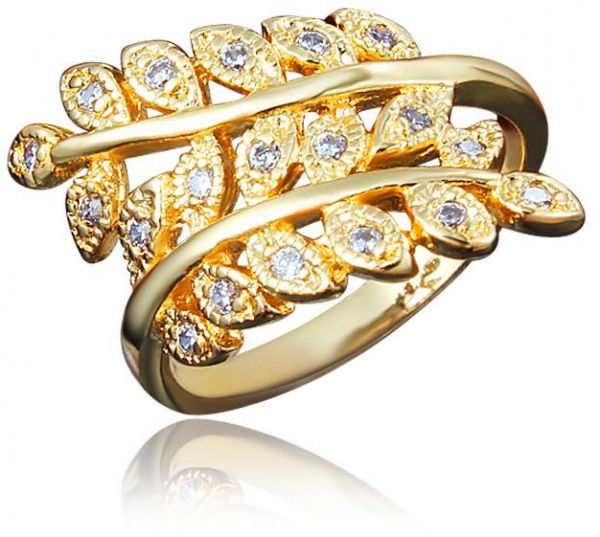Africa Gold Design Wedding Statement Ring For Womenafrica Gold