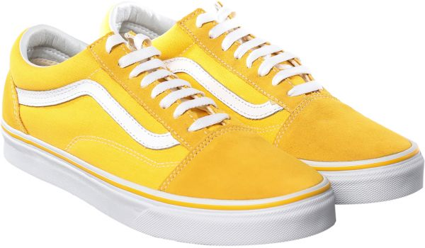 Vans Fashion Sneakers for Men - Yellow