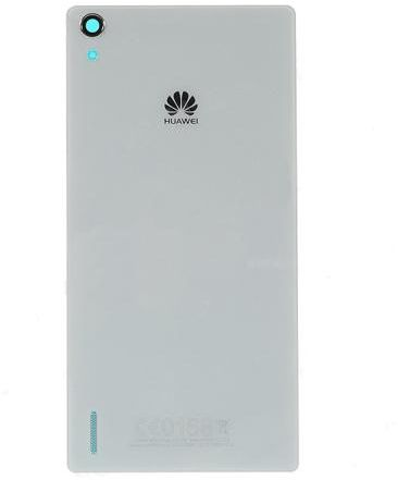 cheaper db8c8 70d6c Rear Battery Back Glass Cover For Huawei Ascend P7, White