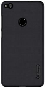 NILLKIN FROSTED BACK COVER FOR HUAWEI P8 LITE SCREEN PROTECTOR INCLUDED BLACK