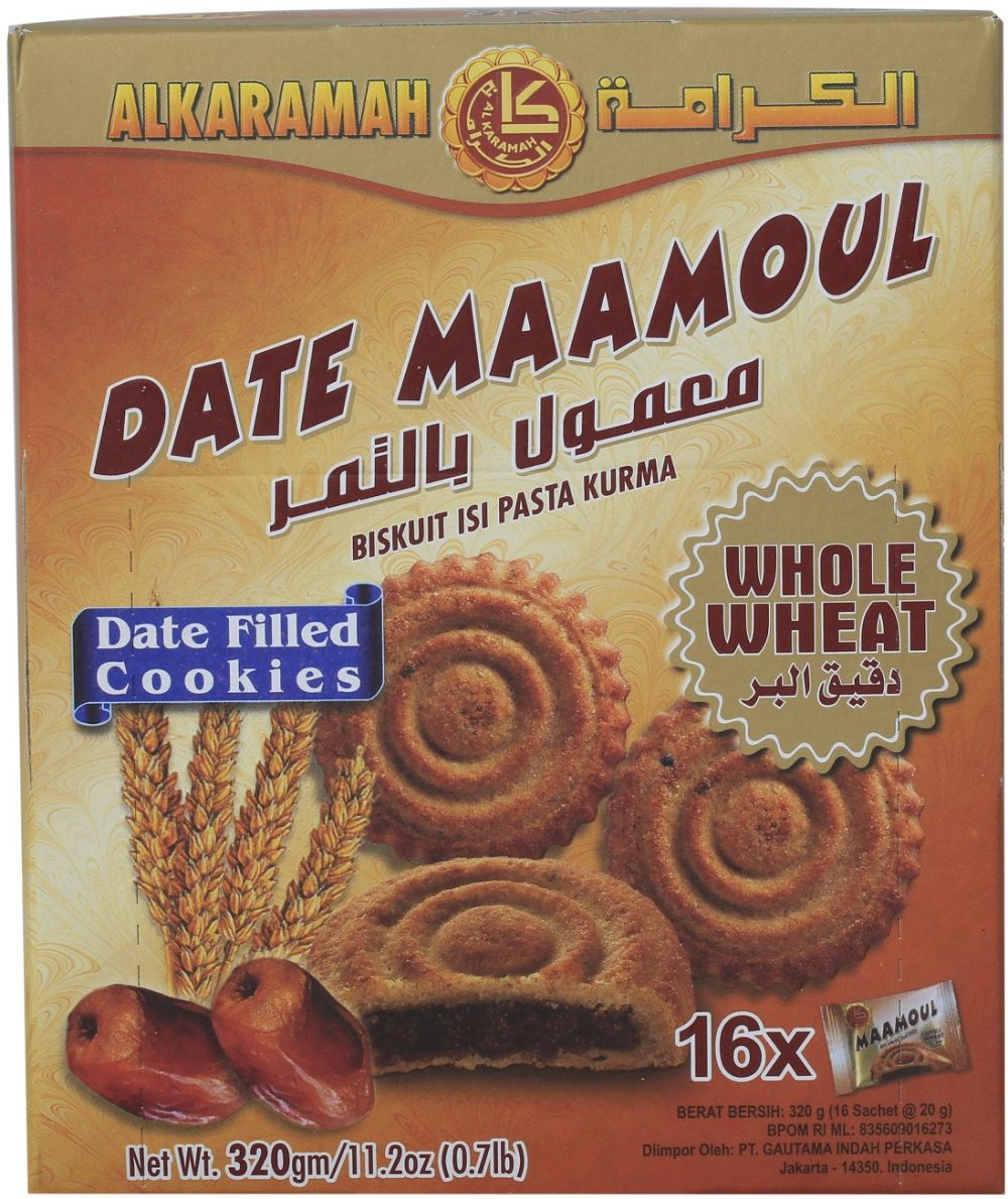 Al-Karama Date Mamoul Whole Wheat , 320g