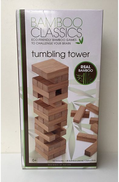 bamboo tumbling tower game 3200969 building sets toys baby