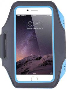 Sports Running Jogging Gym Armband Arm Band Case Cover For iPhone 7 Plus 5.5 Inch Blue