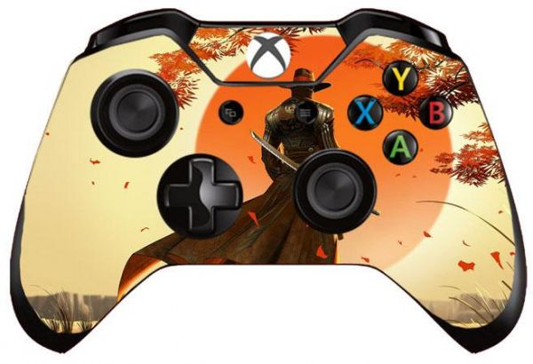 Film Stickers Skins For Xbox One Controller - Swordsman Style