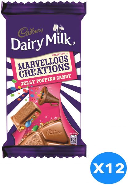 529a9c5df Cadbury Dairy Milk Marvelous Creations Jelly Popping Candy, 160 gm ...