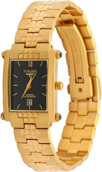 Tunlees Watch for Women - Metal, Gold