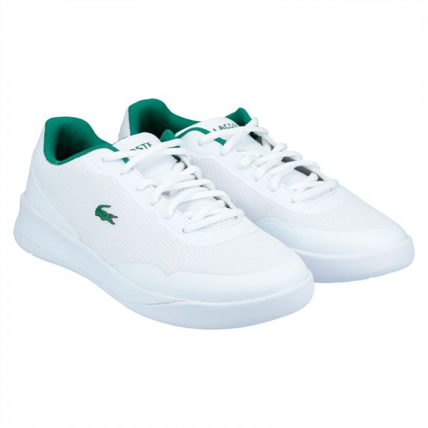 0446011b680c Lacoste Lt Spirit 117 1 Fashion Sneakers for Women - White   Green ...