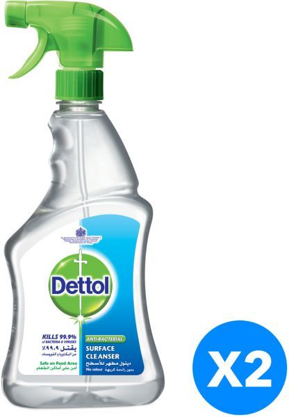 a1fd3047fba9 Dettol Disinfectant Anti-Bacterial Clear Surface Cleanser Trigger ...