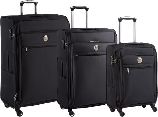 97c0e14dbe0c Delsey Luggage Trolley Bags 3 Pieces set