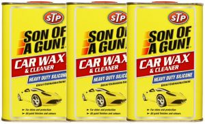 Set Of 3 STP Son of a gun silicon wax and cleaner 320