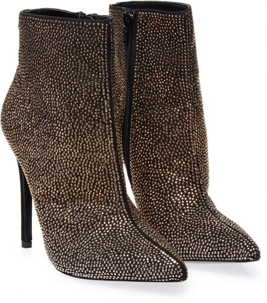 afd86d05a13 Aldo Heel Boots for Women - Gold   Black Price in UAE
