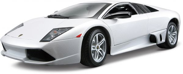 Maisto Lamborghini Murcielago Lp640 Se Series White Model Car