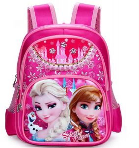 81a82e5cd35f8 Frozen Elsa School Backpack Blue for 2-5years Kids PINK