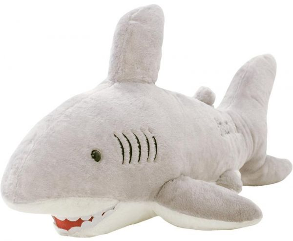 70cm Great White Shark Stuffed Animal Souq Uae