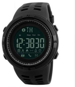 SKMEI Outdoor Waterproof Pedometer Calories Clocks Digital Sports Bluetooth Watch