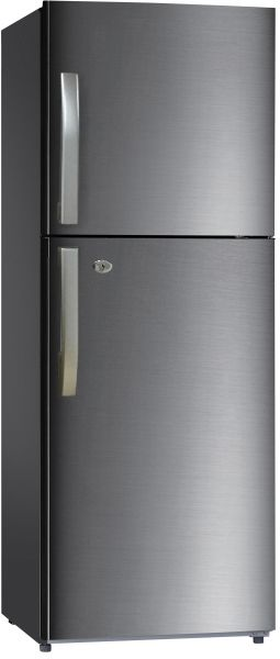Haier 344 Liters Top Mount Refrigerator Grey  HRF366SS
