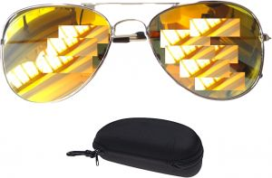 214e3be5892 Sunglasses for children and owners of the small face Silver frame lenses  Gold Marina Item No 601 - 7