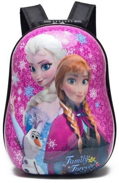 15ed01b7a6 Frozen Princess Elsa and Anna Barbie School Bag for 3 - 8 Ages Kids  Children Girls Fashion Student Backpack