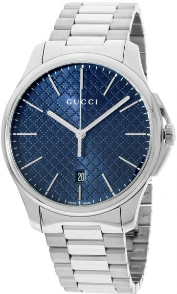 af523e1fe33 Gucci G-Timeless Men s Blue Dial Stainless Steel Band Watch ...