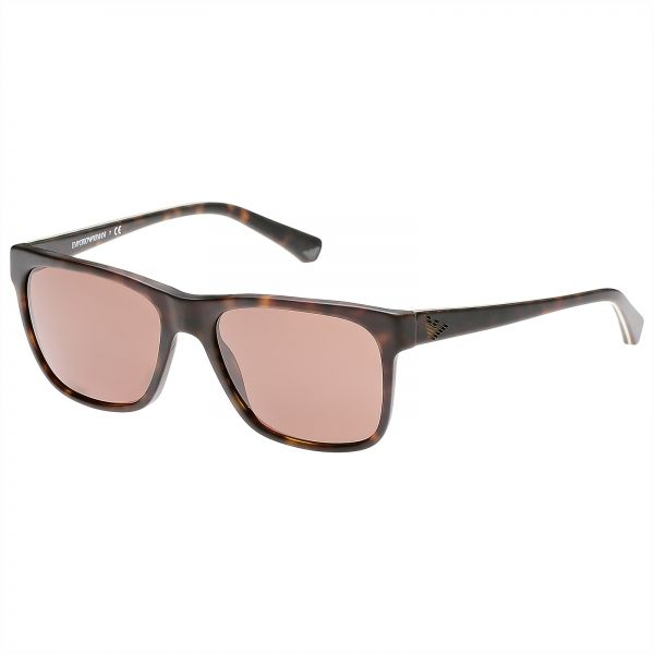 daa0490e89be Emporio Armani Square Men s Sunglasses - EA400254307355 - 55-18-140mm