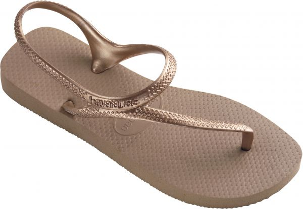 04a6bfb9c21 Havaianas Rose Gold Flat Sandal For Women Price in Kuwait | Souq ...