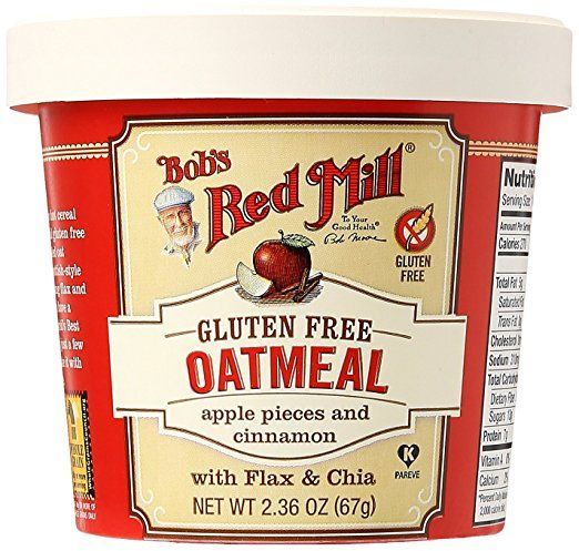 Bobs Red Mill Oatmeal Cup Apple Pieces Cinnamon 236 Oz Souq Uae