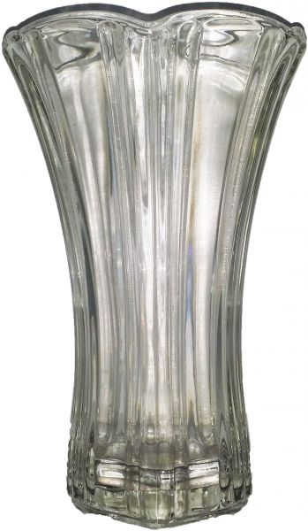 Decorative Heavy Glass Vase Transparent Home Decor Kanbkam