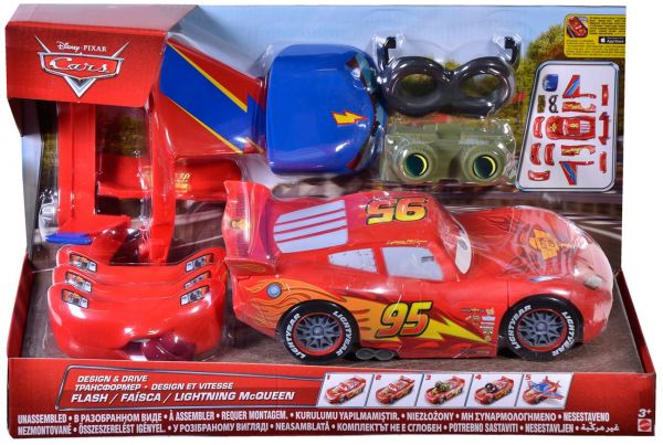 Disney Cars Design And Drive Lightning Mcqueen Toys Baby