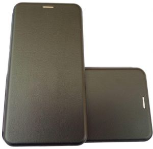 Flip Leather Stand Cover Case by Ineix for Samsung A5 2017 - BLACK