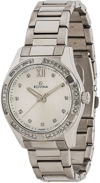 Rovina Watch for Women - Analog, Metal - 51152L1BW