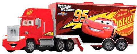 Dickie Remote Control Cars 3 Turbo Mack Truck And McQueen