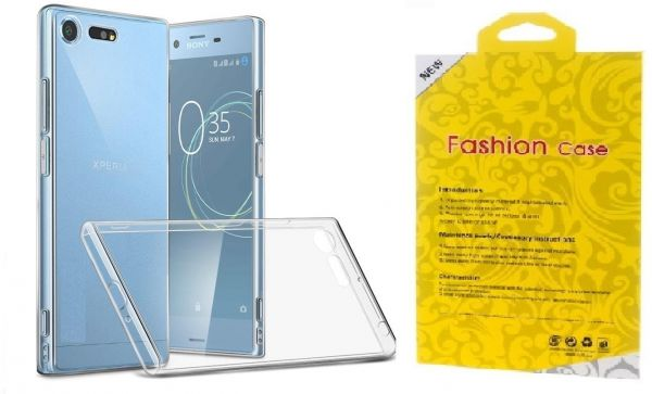 newest 65611 3c144 Sony Xperia XZ Premium Drop resistant Shockproof TPU Case Cover- Clear.