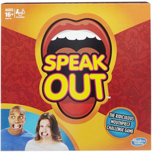 vtop speak out game family and party game thats a mouthful of fun with game cards for halloween games for kids and adults