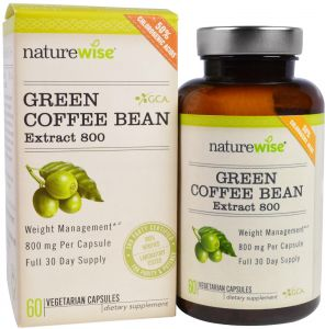 Naturewise Green Coffee Bean Extract 800 60 Veggie Caps Buy