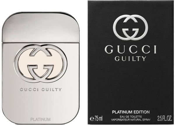 e0af2cecbb Guilty Platinum by Gucci for Women - Eau de Toilette, 75ml | Souq - Egypt