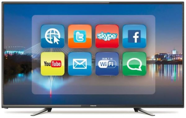 Nikai 50 Inch 4K Ultra HD Smart LED TV - UHD50SLEDT