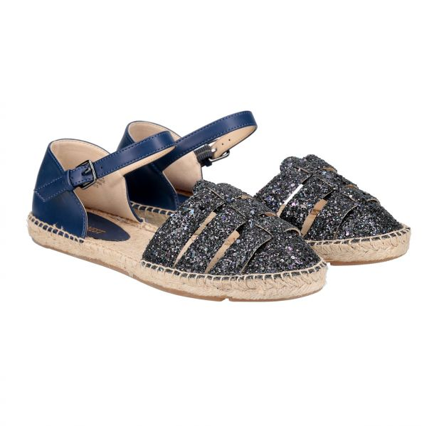 65f229f7930 Nine West Espadrille Sandals for Women - Navy Blue | KSA | Souq