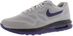 low priced 47a0f f8998 Nike Air Max Lunar 1 Wr Running Shoes for Women, Wolf Grey Court Purple