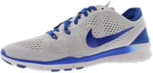 hot sales 195cf 1eded Nike Free 5.0 Tr Fit 5 Training Shoes for Women, White Game Royal