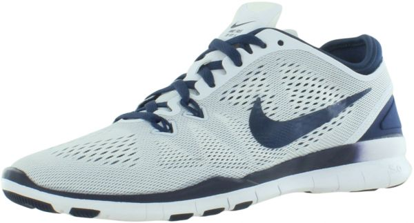 competitive price fd173 7e53c Nike Free 5.0 Tr Fit 5 Training Shoes for Women, White/Midnight Navy