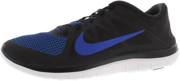 Nike Free 4.0 V4 Running Shoes for Men, BlackGame RoyalWhite