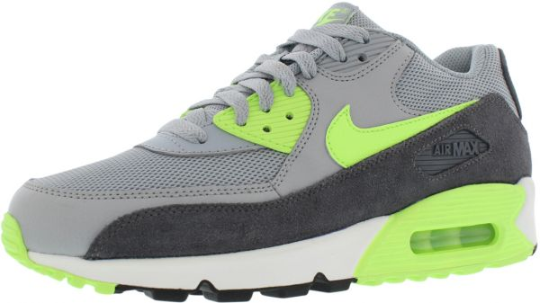 Nike Air Max 90 Essential Running Shoes for Women, Wolf Grey