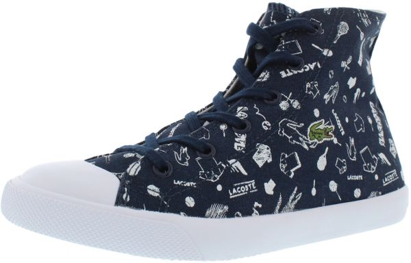 31c3847eb Lacoste Dark Blue Fashion Sneakers For Girls