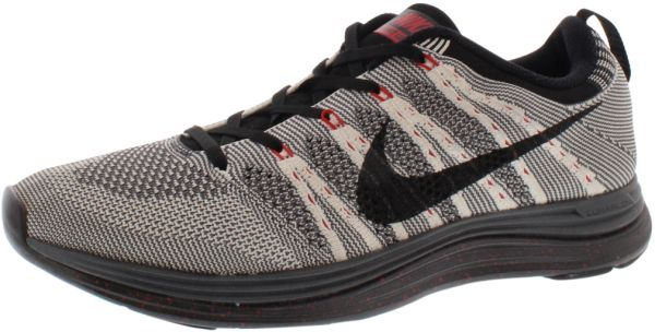 bef870fe3375 ... closeout nike flyknit lunar 1 running shoes for men black white dark  grey university red 9b374 netherlands nike flyknit lunar3 ...
