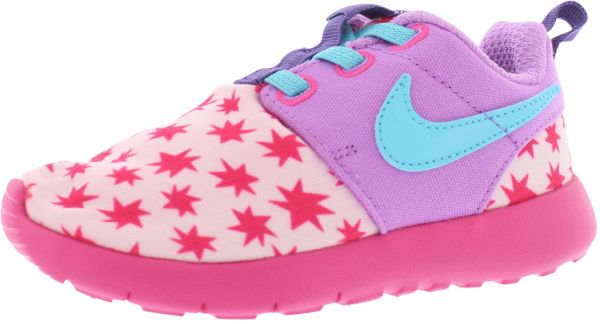297aac1c17f2 Nike Rosherun Print Preschool Running Shoes for Girls