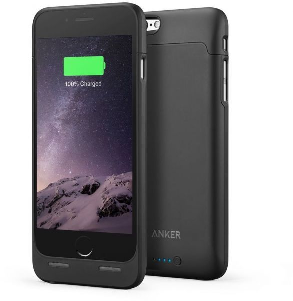 sports shoes f8276 85472 Anker 2850mAh Ultra Slim Battery Case for iPhone 6/6s - Black, A1405011