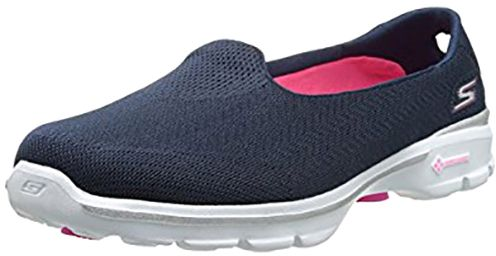 7f11a20fb سعر Skechers Go Walk 3 Insight Walking Shoes for Women, Navy فى مصر ...