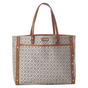 0cad642dfbe1 Tommy Hilfiger Tote Bag for Women - Brown